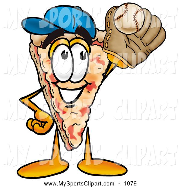 600x620 Sports Clip Art Of A Cute Slice Of Pizza Mascot Cartoon Character