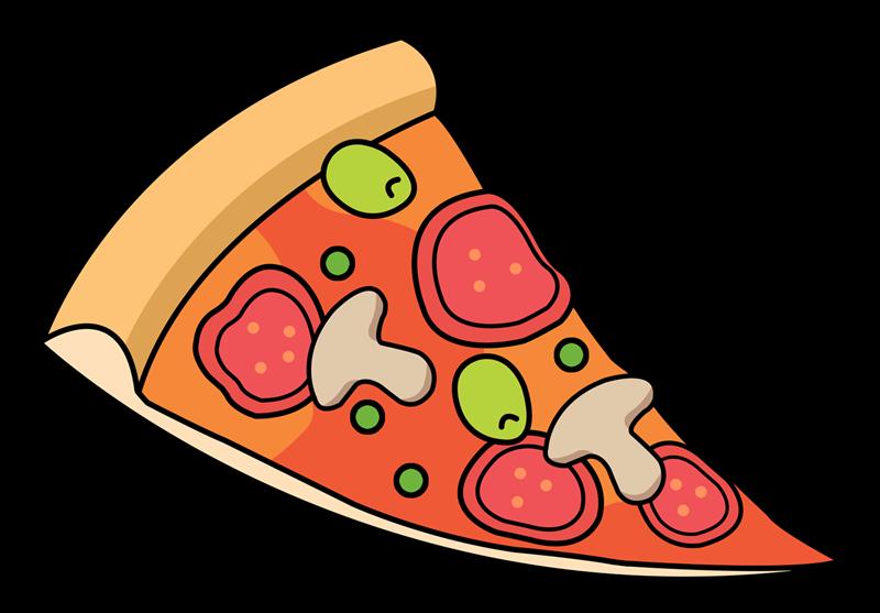 800x557 Clip Art Of Pizza