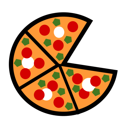 400x422 Cartoon Picture Of Pizza