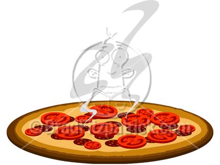 432x324 Cartoon Pizza Clipart Clipart Panda