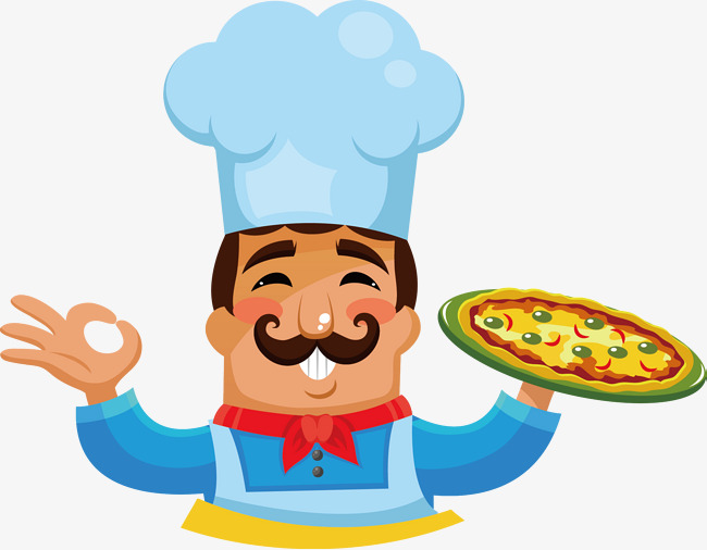 650x506 Cartoon Chef, Private Kitchen, Pizza, Cartoon Png And Vector