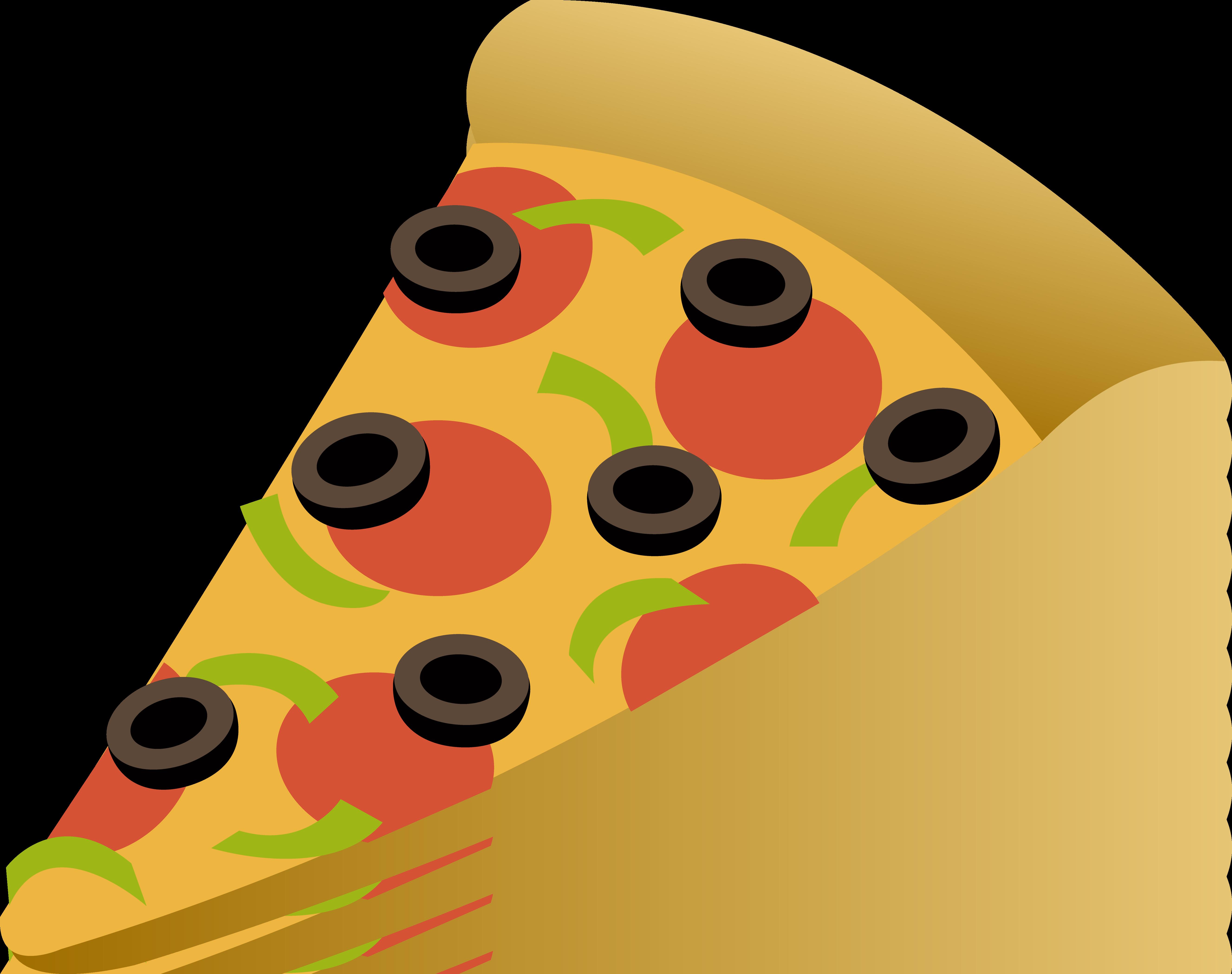 5307x4197 Pepperoni Pizza Slice Clip Art Clipart Panda