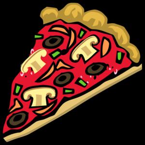 300x300 Veggie Pizza Clip Art