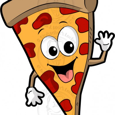 400x400 Pizza Cartoon Pizza Clipart Pizza Graphic Mini Bazar