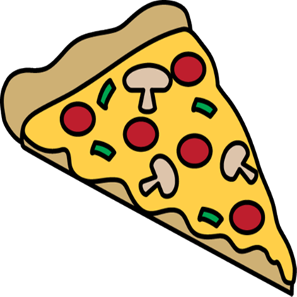 420x420 Pizza Slice Clipart