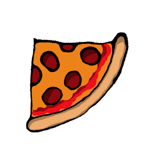 500x500 Pizza Clipart Quarter Pizza