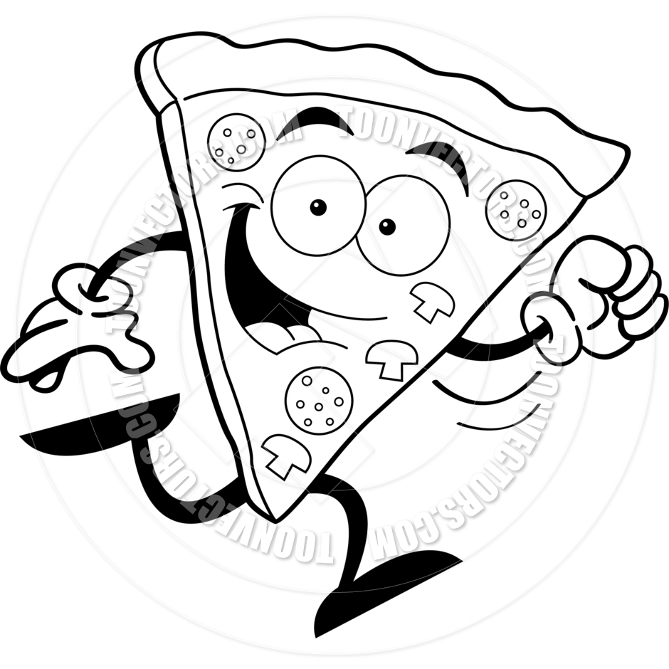 940x940 Pizza Clipart Black And White Many Interesting Cliparts
