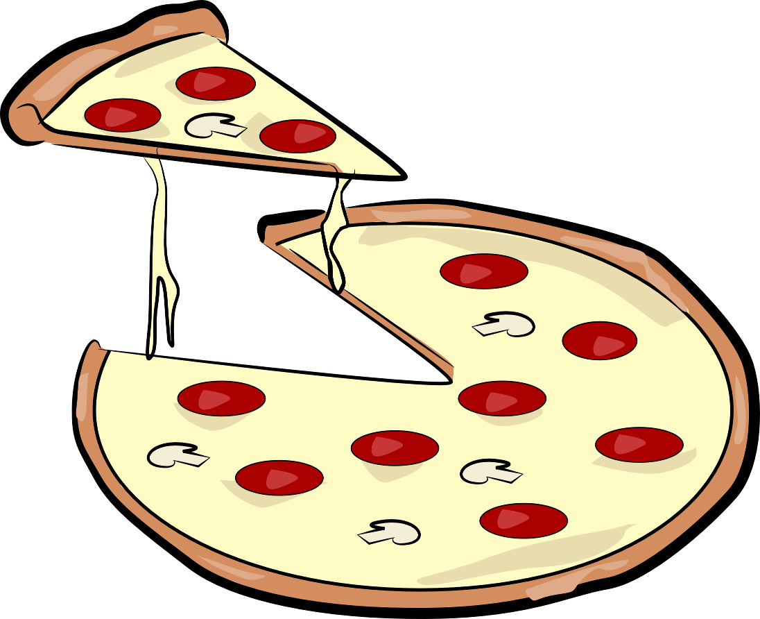 1096x892 Pizza Clipart Black And White Free Images 2