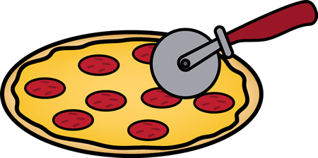 450x224 Pizza Clipart Black And White Images Free Download