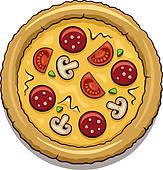 163x170 Pizza Clip Art