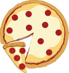 281x300 Pizza Clip Art Free Clipart