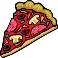 200x200 Free Pizza Clipart