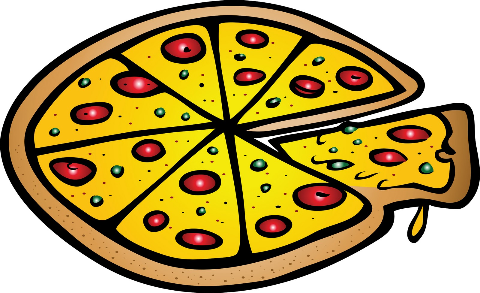 1600x976 Pizza Clip Art Clipart Photo