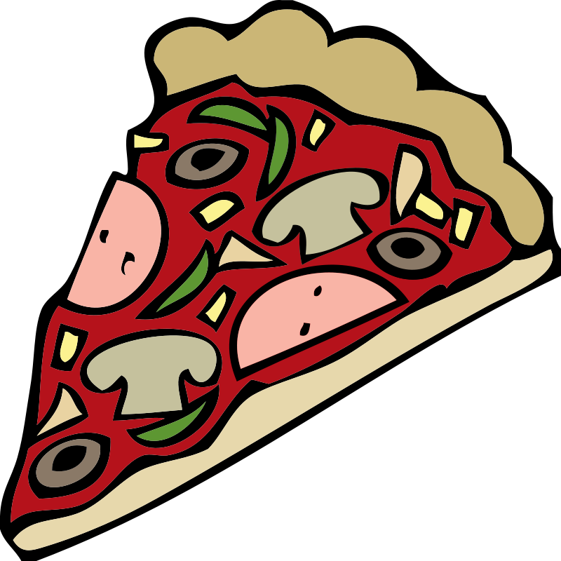 800x800 View Pizza In Food Clipart