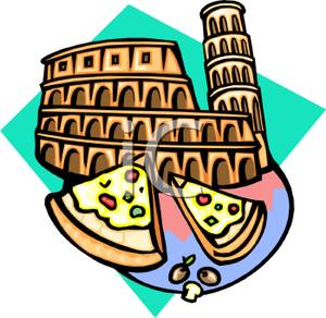 Pizza Graphics Clipart