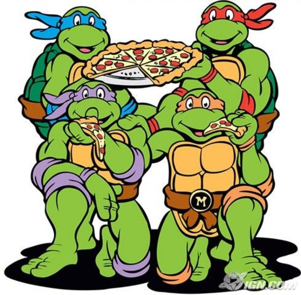1024x1001 Teenage Mutant Ninja Turtles Pizza Cookbook Delish For Ninja