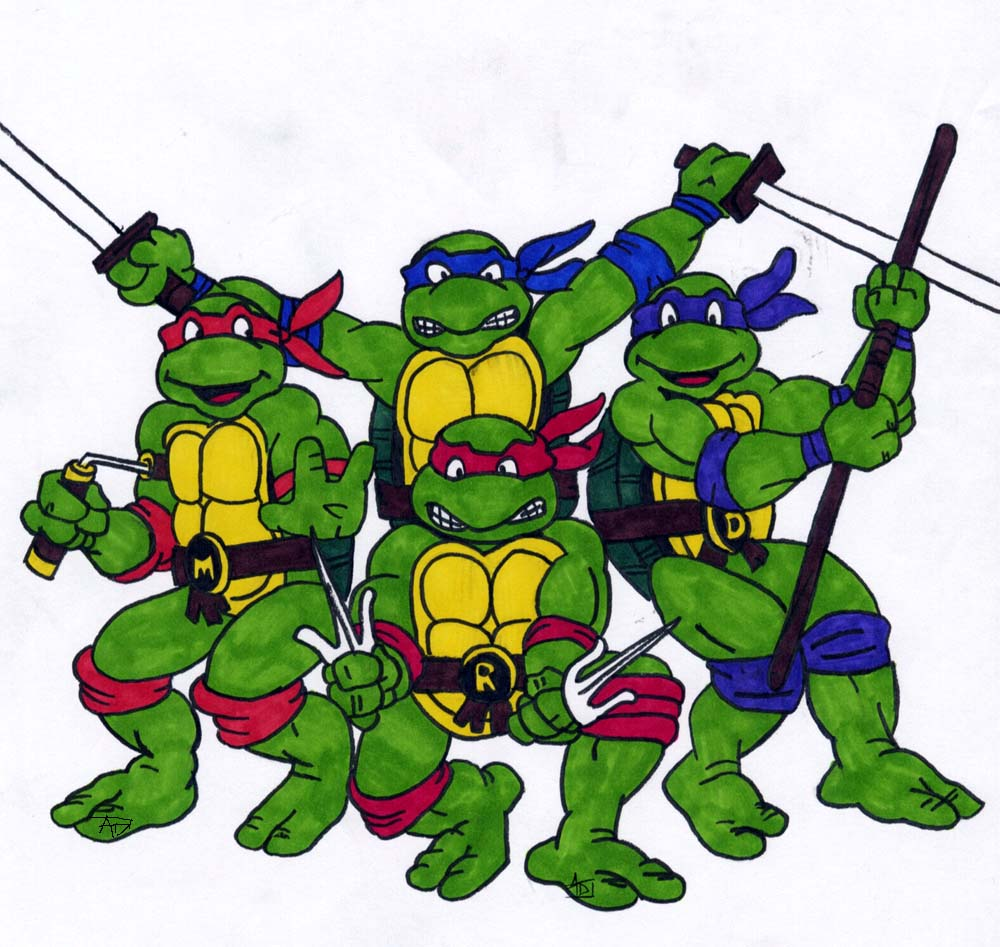 1000x947 original turtles by batgirl39 on deviantart