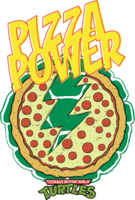 190x281 Tmnt Turtles Pizza Power Shield T Shirt Spreadshirt