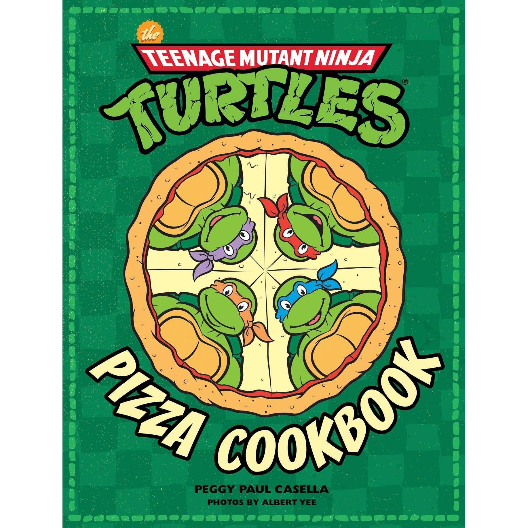 1834x1834 Teenage Mutant Ninja Turtles Pizza Cookbook By Peggy Paul Casella