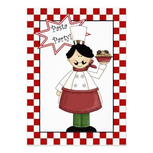 512x512 Pasta Party Clip Art