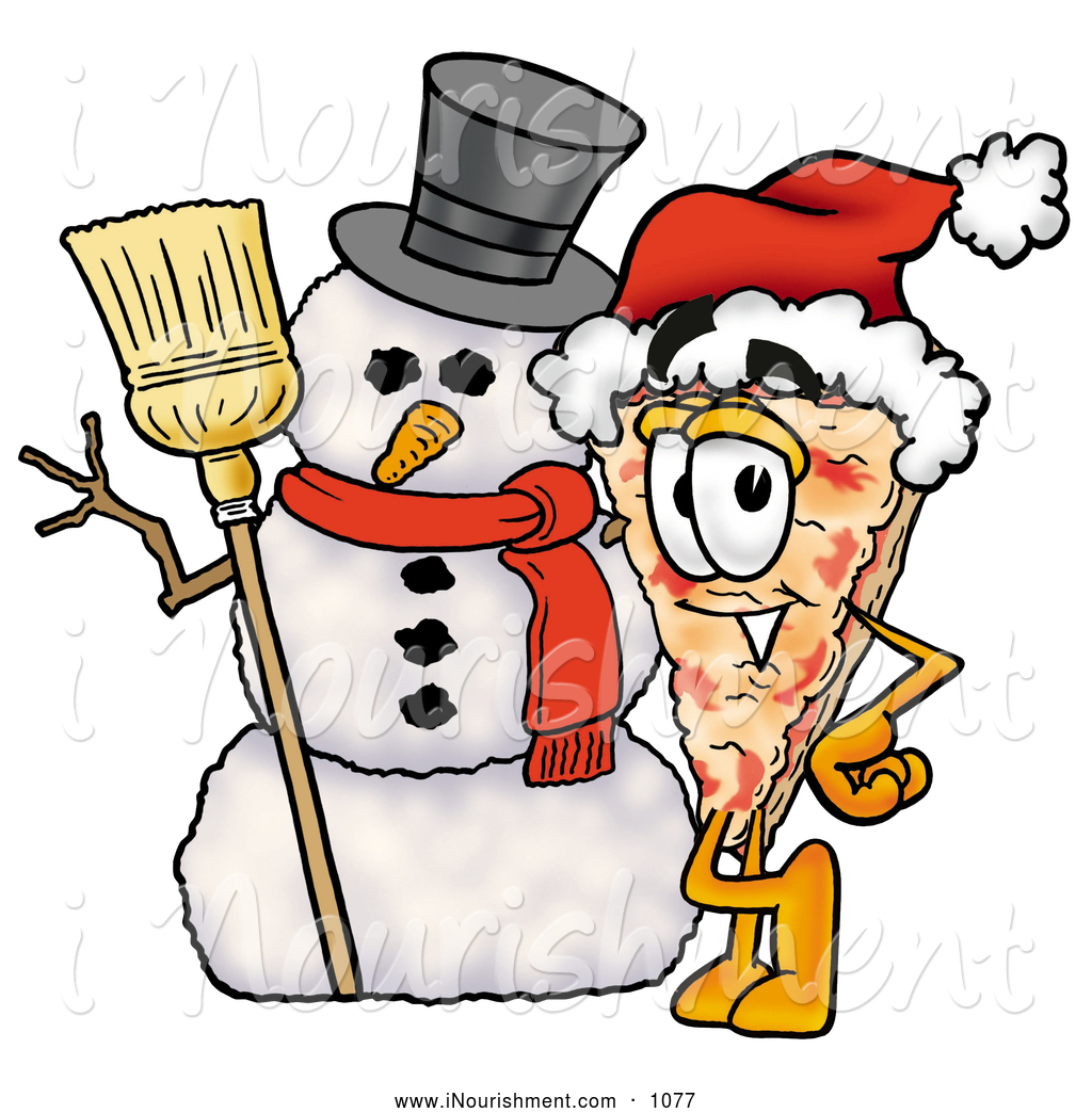 1024x1044 Pizza Character Clipart