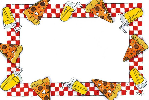 610x410 Pizza Party Clipart