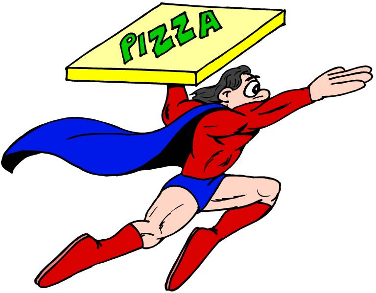 768x599 Pizza Clip Art Transparent Free Clipart Images