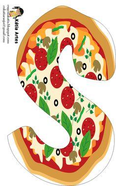 236x378 Alfabeto De Pizza. Oh My Alfabetos! Pizza Party