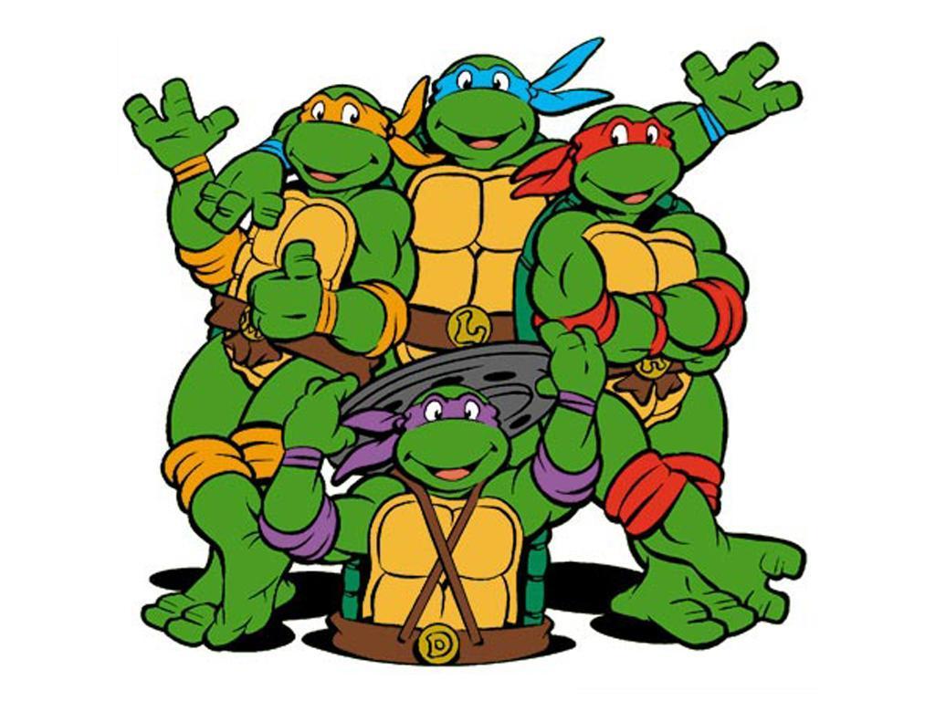1024x768 Ninja Turtles Clip Art