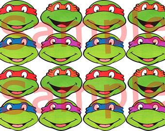 340x270 Ninja Turtle Sticker Etsy