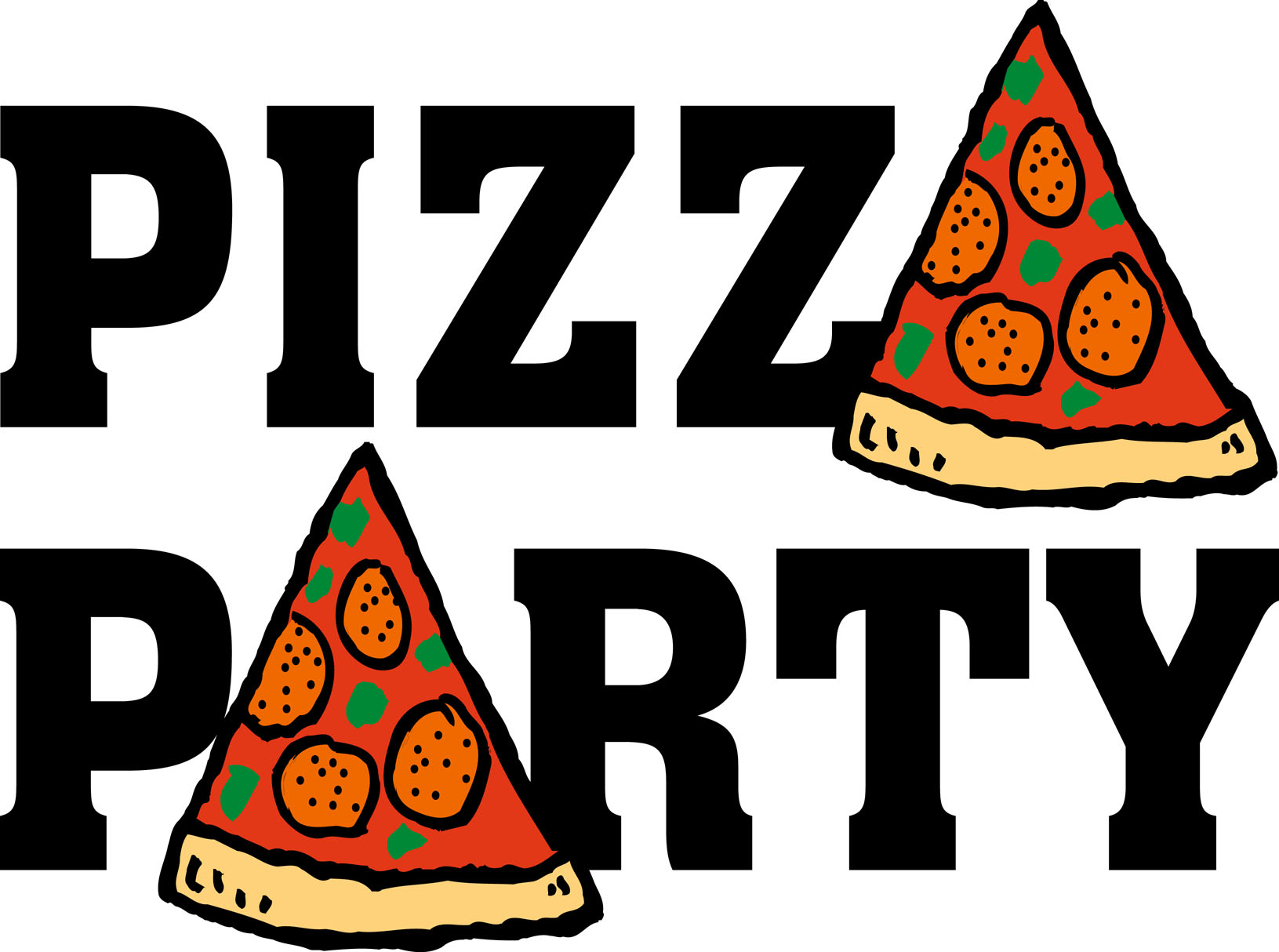 1631x1214 Pizza Party Clip Art
