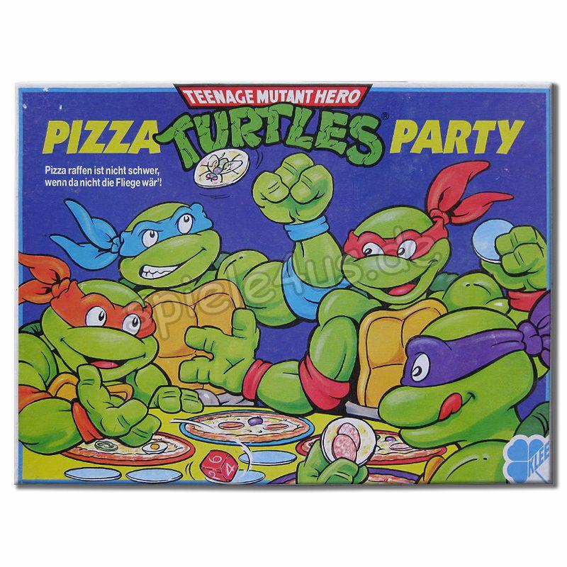 800x800 Pizza Turtles Party Spiel Gebraucht Kaufen