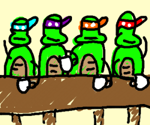 300x250 Snapping Turtle Tea Party