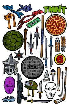 236x364 Weapon Clipart Tmnt