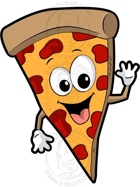 457x607 Pizza Cartoon Skybacher's Locker
