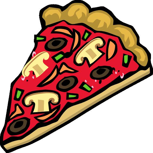 600x601 Veggie Pizza Clip Art
