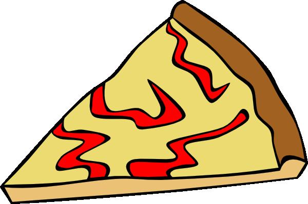 600x399 Cheese Pizza Slice Clip Art