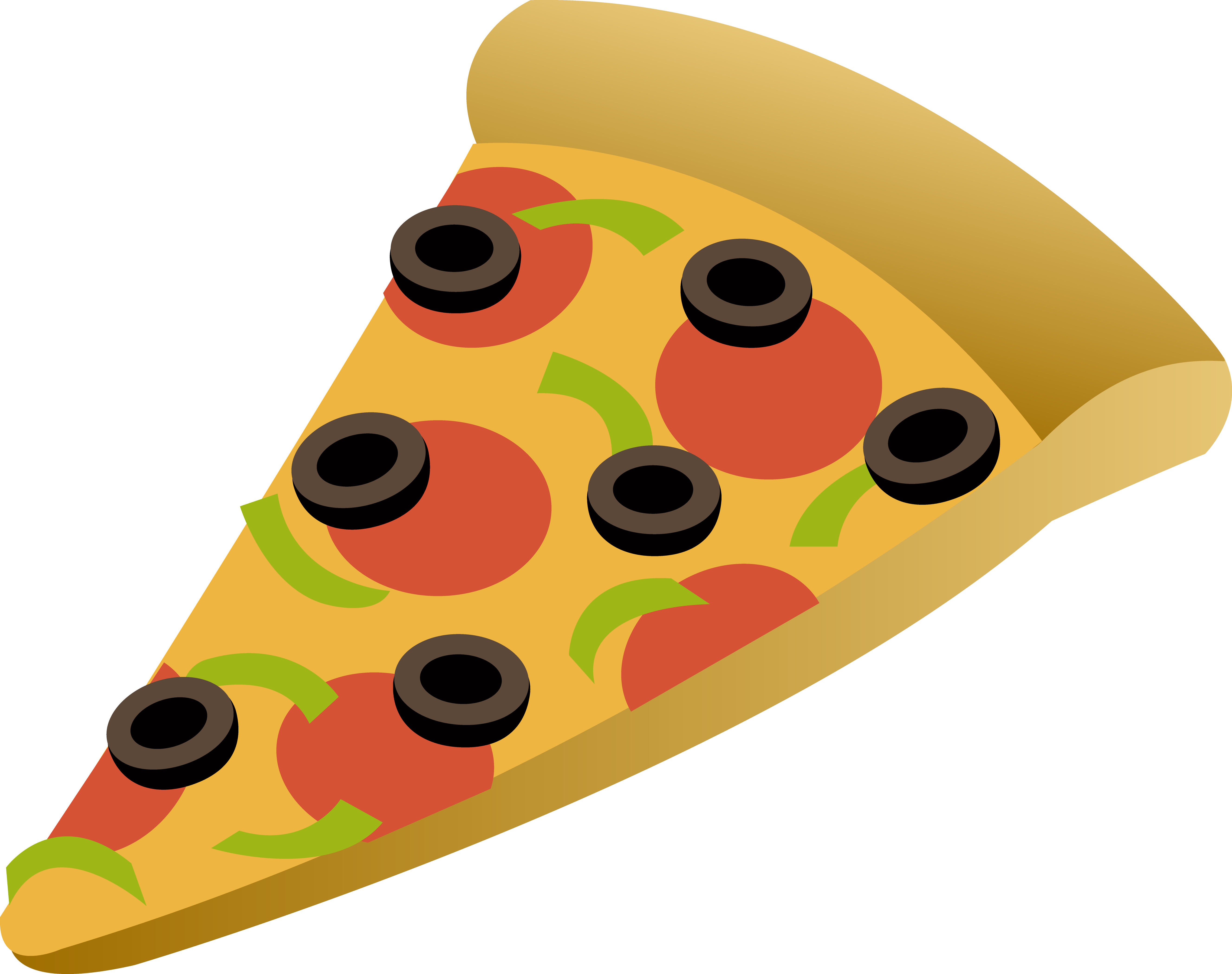 5307x4197 Pizza Clipart 2