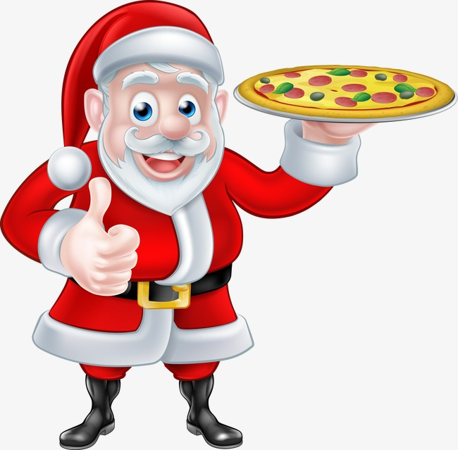 650x639 Vector Pizza, Pizza, Santa Claus, Vector Png And Vector For Free