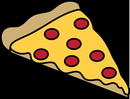 450x342 Pepperoni Pizza Slice Clip Art