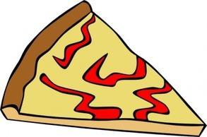 293x194 Pizza Slice Clipart