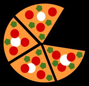 299x288 Pizza Slices Clip Art