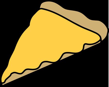450x357 Cheese Pizza Slice Clip Art