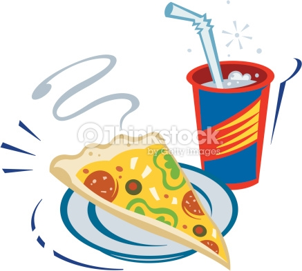 437x393 Pizza Clipart Drink