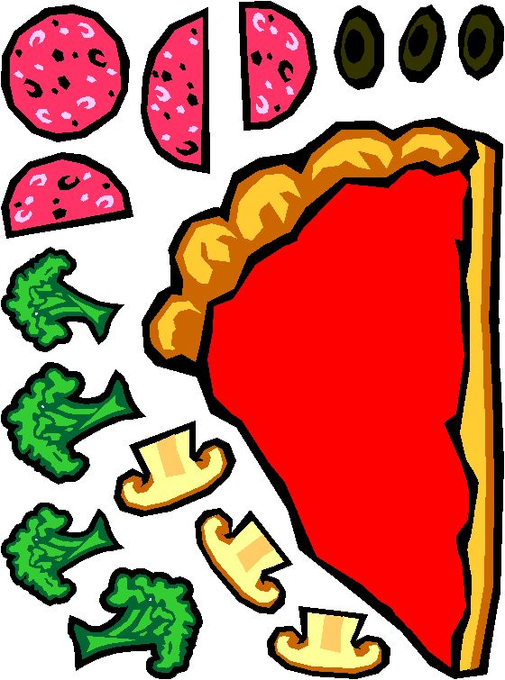 Pizza Topping Clipart