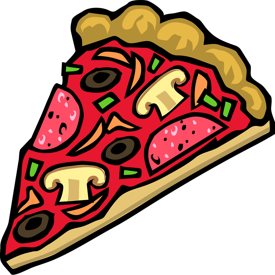 958x958 Pizza Free Stock Photo Illustration Of A Slice Of Pizza