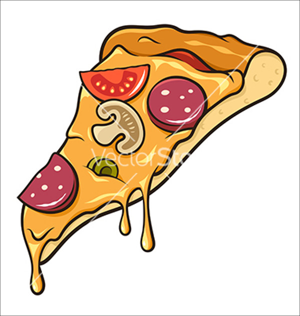 600x632 Pizza Vectors