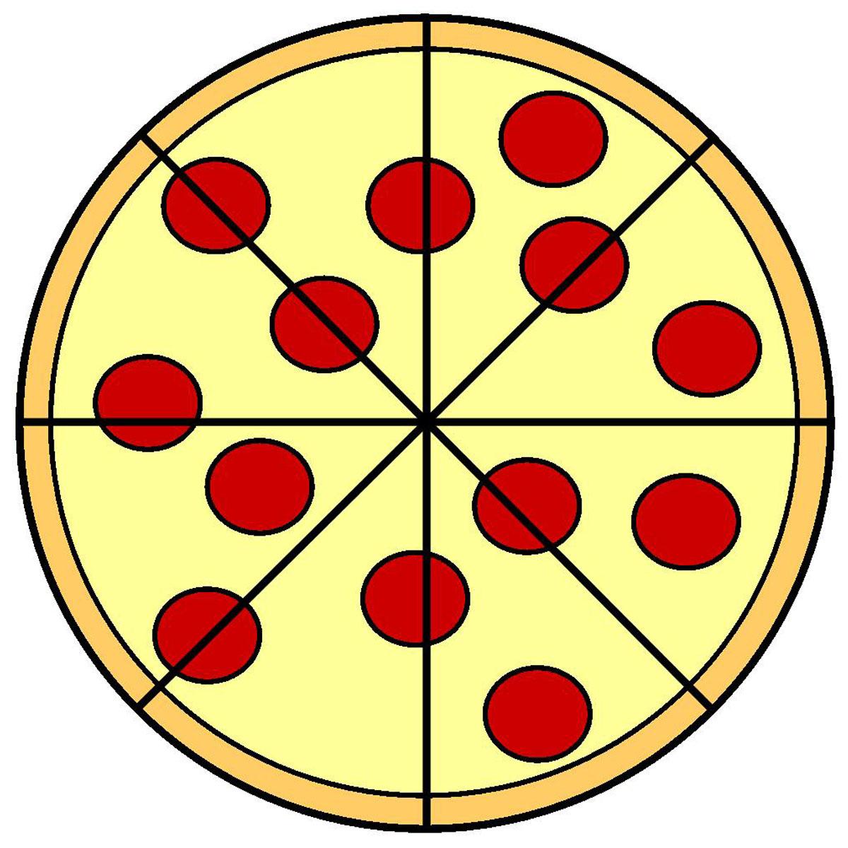 1200x1200 Free Pizza Clipart