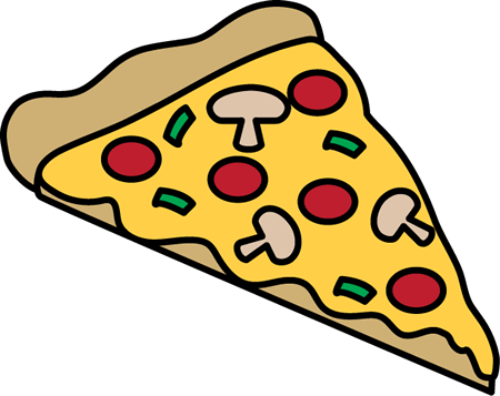 450x357 Pizza Slice Clip Art