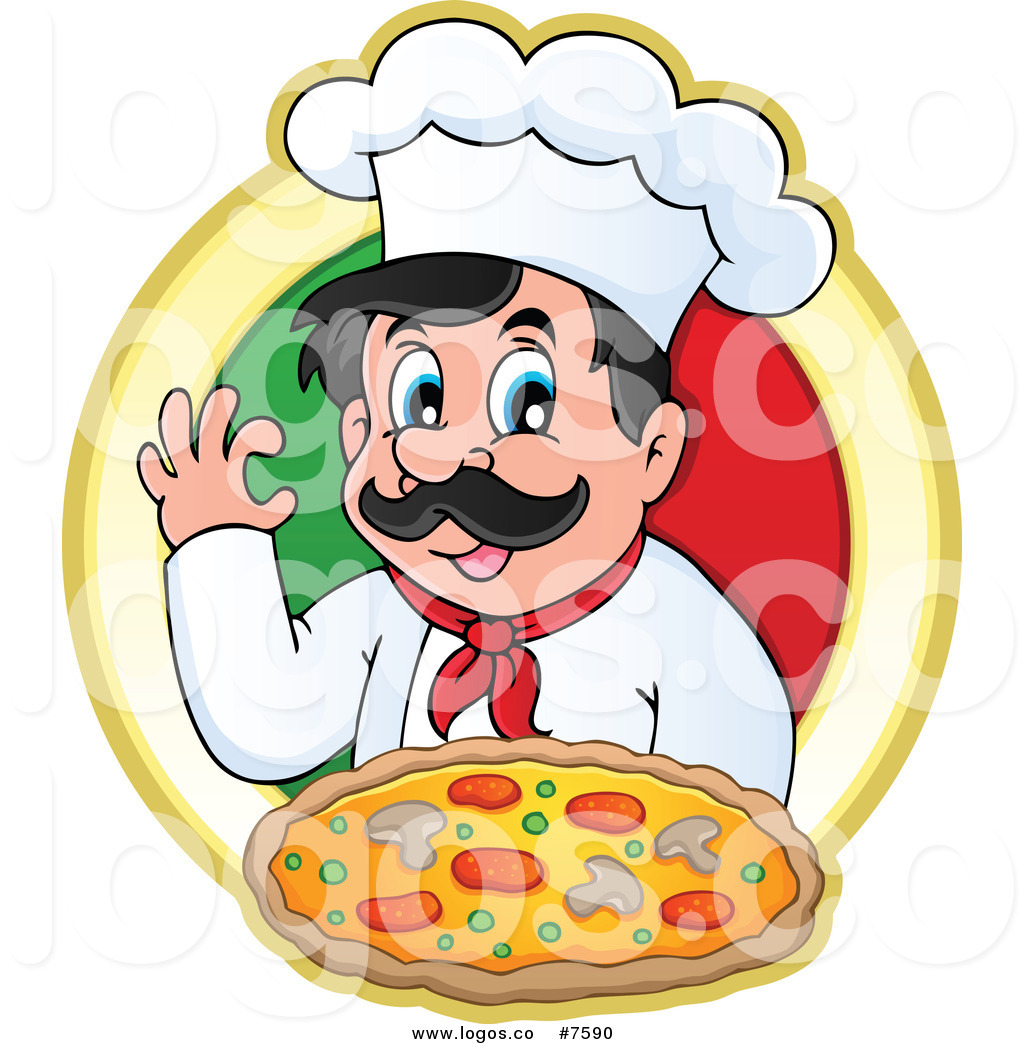 1024x1044 Royalty Free Clip Art Vector Logo Of A Chef Gesturing Ok